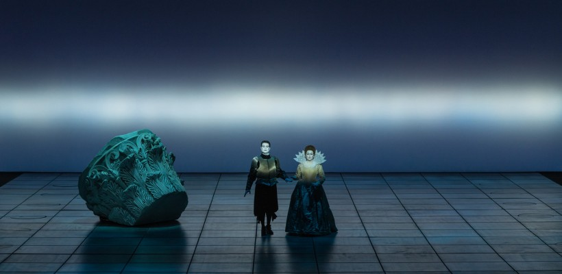 Claudio Monteverdi, Incoronazione Poppea, regia di Robert Wilson