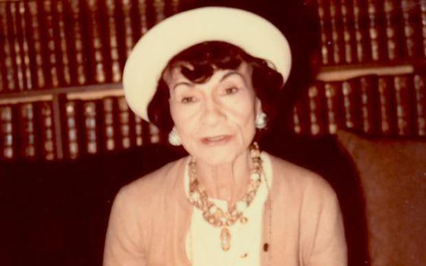Coco Chanel nel 1970