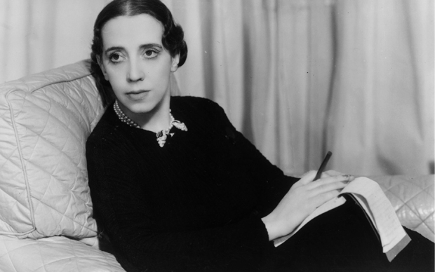 1st March 1934:  Italian dress designer Elsa Schiaparelli (1890 - 1973), who also created a number of perfumes.  (Photo by Sasha/Getty Images)