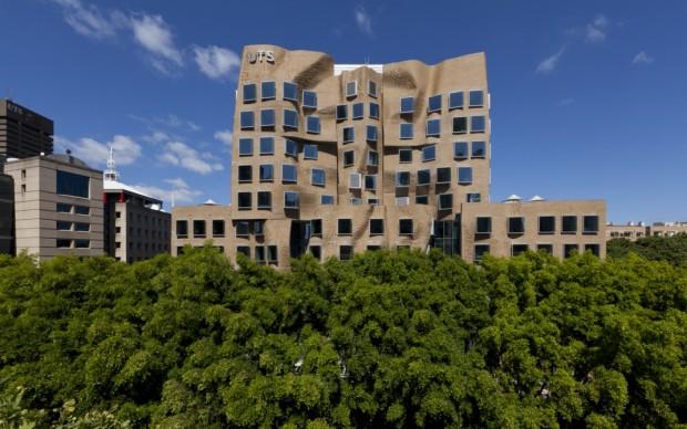 Frank Gehry, UTS Business School, Sydney (foto Andrew Worssam)