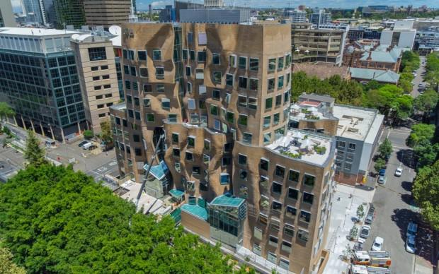Frank Gehry, UTS Business School, Sydney (foto Coptercam)