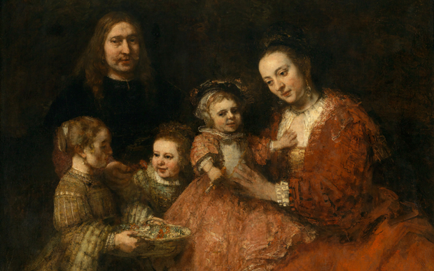 Remdrandt van Rijn, Ritratto di famiglia, 1665. Olio su tela. Anton Ulrich Museum, Braunschweig