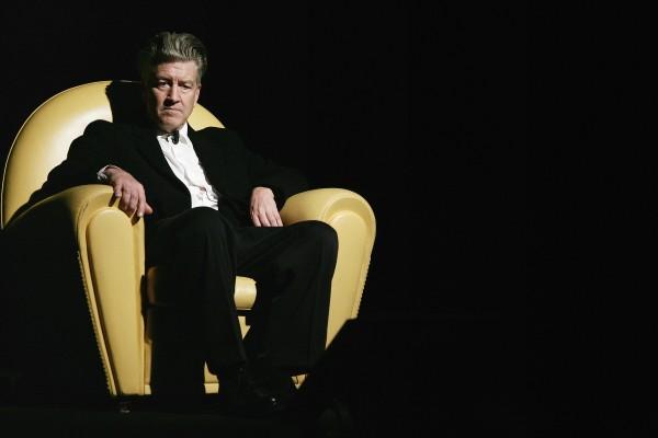 Il regista David Lynch a Roma nel 2006