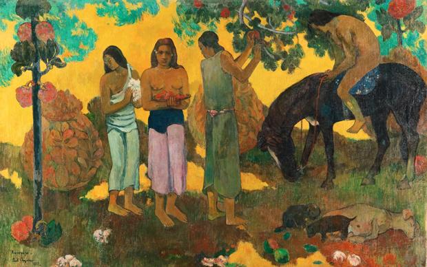 Paul Gauguin, Rupe rupe, 196 x 300 mm