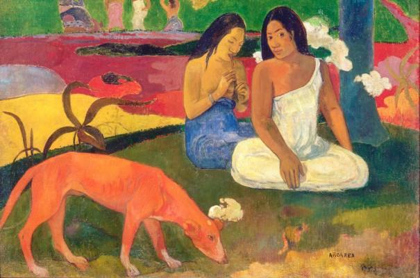 Paul Gauguin, Arearea, 1892. Olio su tela, 75 x 94 cm, Musée d'Orsay, Parigi. Photo: © RMN-Grand Palais (Musée d'Orsay)/Hervé Lewandowski