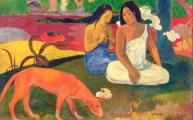 Paul Gauguin, Arearea, 300 x 235 mm