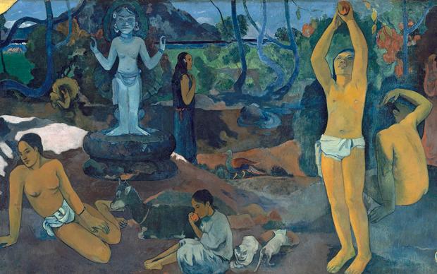 Paul Gauguin, D'où venons-nous? Que sommes-nous ? Où allons-nous ?, 110 x 300 mm