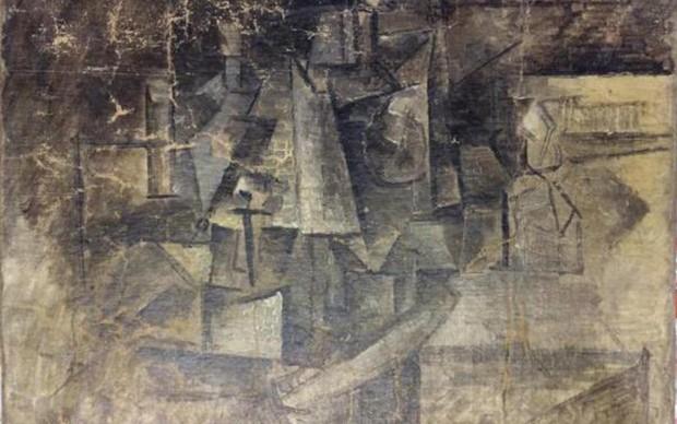 Pablo Picasso, La Coiffeuse, 1911