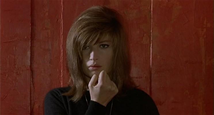 Monica Vitti nel film Deserto rosso, 1964, di Michelangelo Antonioni