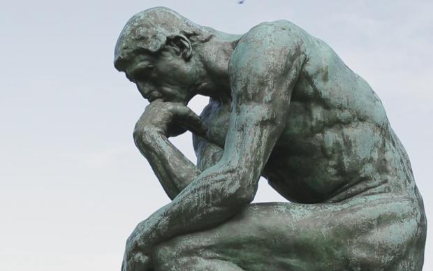 Auguste Rodin, il Pensatore