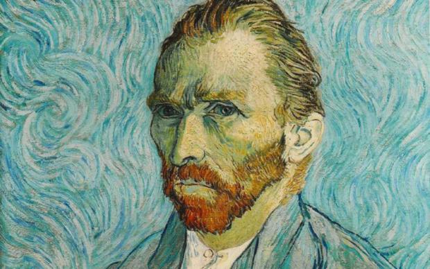 Vincent Van Gogh, (particolare) Autoritratto, 1889