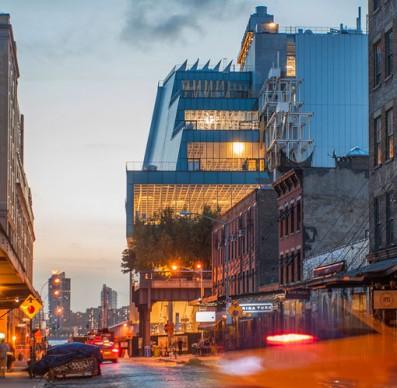 Renzo Piano, Whitney Museum of American Art, New York. Vista dallo Hudson River. Foto: Karin Jobst, 2014.