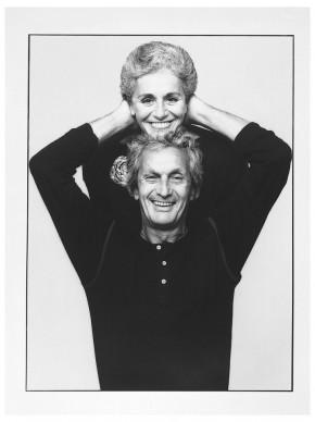 Ottavio e Rosita Missoni, 1984. Photo Giuseppe Pino