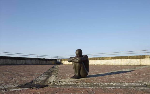 Antony Gormley, mostra Human, Forte del Belvedere di Firenze
