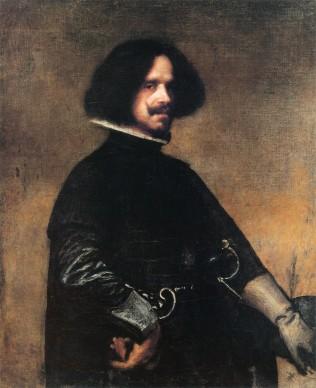 Diego Velázquez, Autoritratto