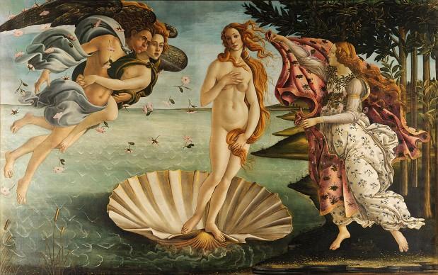 Sandro Botticelli, La nascita di Venere, 1482-85