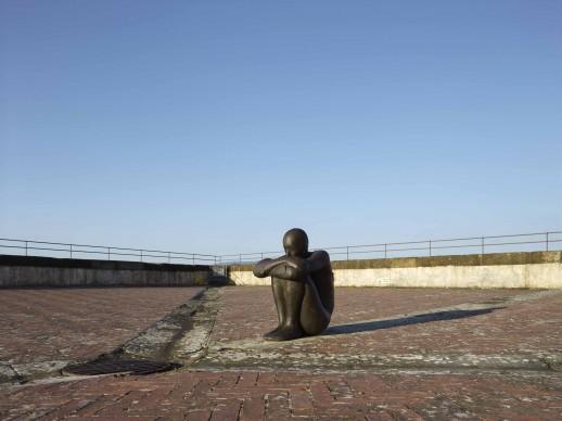 Antony Gormley, HUMAN, Forte di Belvedere, Firenze. Foto: Pietro Savorelli. Courtesy Galleria Continua e White Cube © L'artista