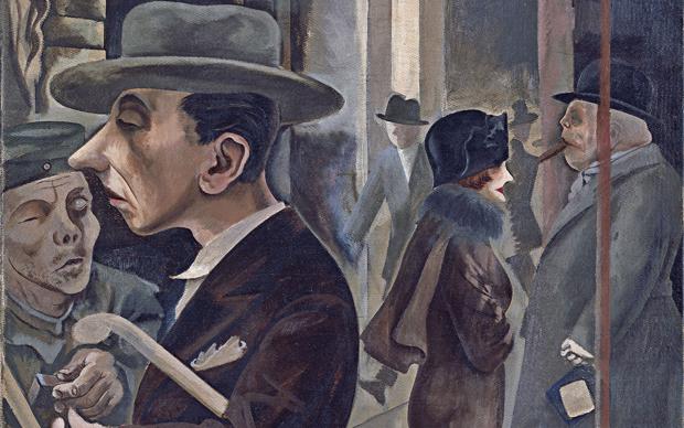 George Grosz, Scena di strada, 1925, Museo Thyssen-Bornemisza, Madrid © George Grosz, by SIAE 2015