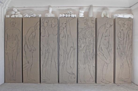 Nino Longobardi, artista presente nel Padiglione Italia alla Biennale d'Arte di Venezia del 2015