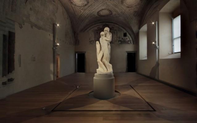 Michelangelo-Buonarroti-Pietà-Rondanini-Nuovo-Allestimento-ph-Roberto-Mascaroni