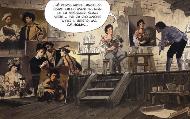 Milo MANARA, CARAVAGGIO, Panini Comics