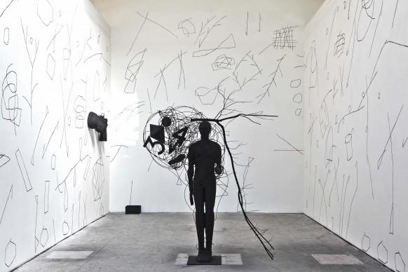 Mimmo Paladino, artista presente nel Padiglione Italia alla Biennale d'Arte di Venezia del 2015
