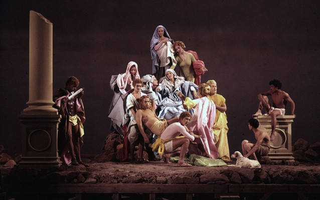 Pasolini, Deposizione da La Ricotta, 1963