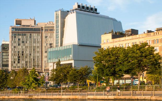 Renzo Piano, Whitney Museum of American Art, New York. Vista da Gansevoort Street. Foto: Karin Jobst, 2014.