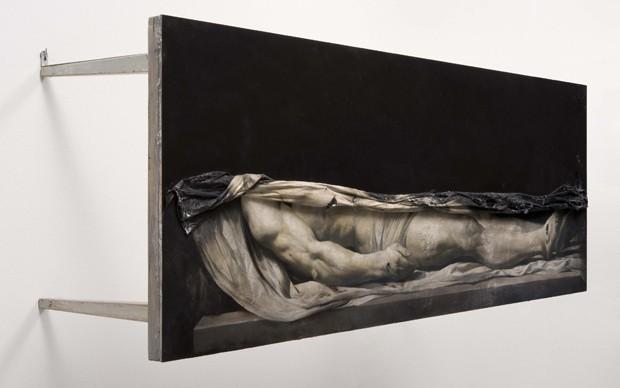 Nicola Samorì, artista presente nel Padiglione Italia alla Biennale d'Arte di Venezia del 2015