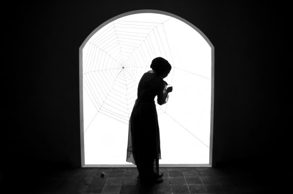 Shadi Ghadirian, Miss Butterfly #6, 2011