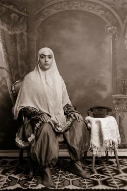 Shadi Ghadirian, Qajar #22, 1998