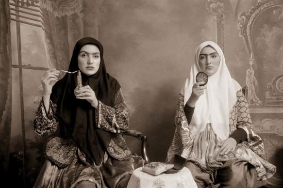Shadi Ghadirian, Qajar #7, 1998