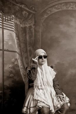 Shadi Ghadirian, Qajar #9, 1998