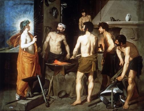 Diego Velázquez, La fucina di Vulcano