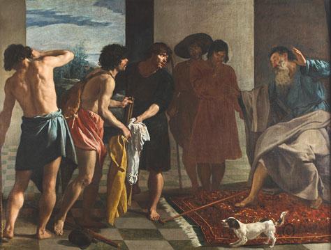 Diego Velázquez, La tunica di Giuseppe
