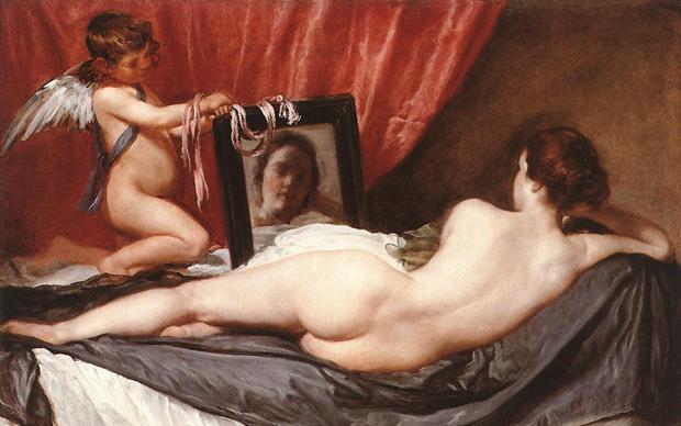 Diego Velázquez, Venere e Cupido (Venere Rokeby)