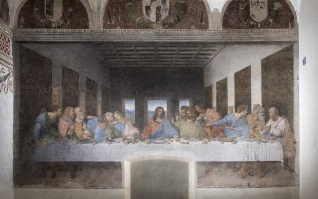 iGuzzini illuminazione Ultima Cena di Leonardo da Vinci