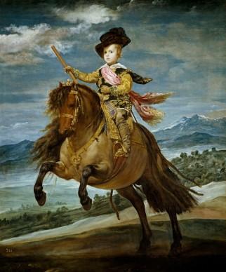 Diego Velázquez, Ritratto del principe Baltasar Carlos a cavallo