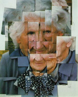 David Hockney, Madre, 1985