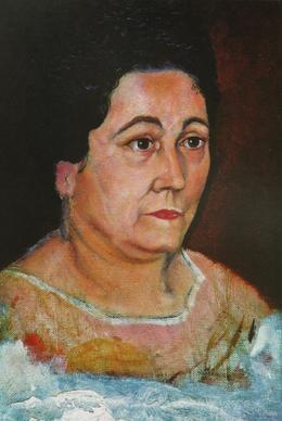 Salvador Dalì, Ritratto della Madre, 1920