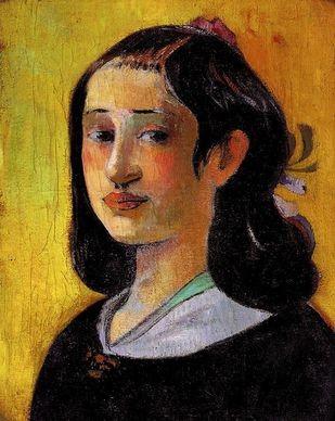 Paul Gauguin, Ritratto di madre, 1894