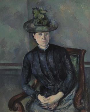 Paul Cézanne, Madame Cézanne, 1894-1895