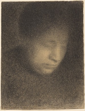 Georges Seurat, Madame Seurat, La madre dell'artista, 1882-1883