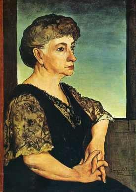 Giorgio de Chirico, Ritratto della madre, 1911