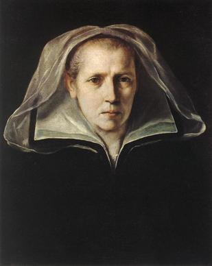 Guido Reni, Ritratto della madre dell'artista, 1608-1610