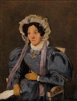 Camille Corot, Madame Corot, la madre dell'artista, 1838