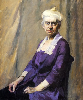 Edward Hopper, Elizabeth Griffiths Smith Hopper, la madre dell'artista, 1916