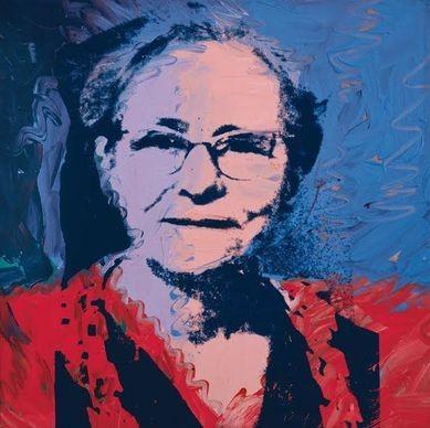 Andy Warhol, Ritratto di Julia Warhol, 1974