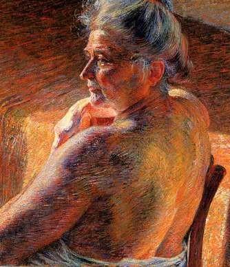 Umberto Boccioni, La Madre, 1909