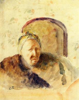 Camille Pissarro, Ritratto della madre,  1888